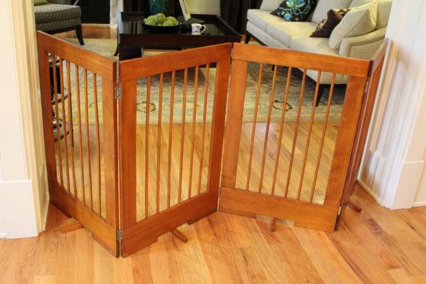 4-Panel Freestanding Pet Gate (Model 4PG)
