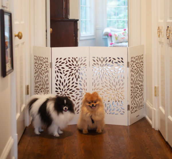 Decorative Freestanding Pet Gate (Model DFPG)