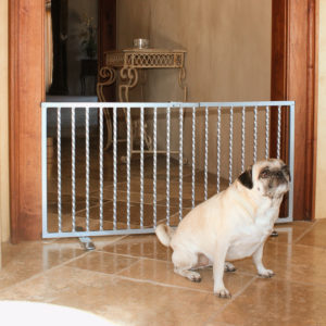 Wrought Iron Step Over Gate (Model WISG)