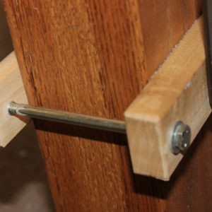 Square Clamp - Solid Wood
